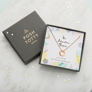 Personalised Adventure Necklace Giftbox