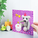 Happy Birthday Teddy Bear Greeting Card