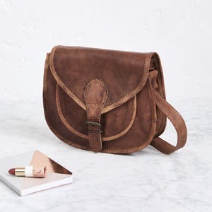 Vintage Saddle Bag Mini - shoulder bags
