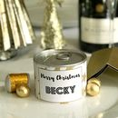 Personalised Christmas Crackers Tin