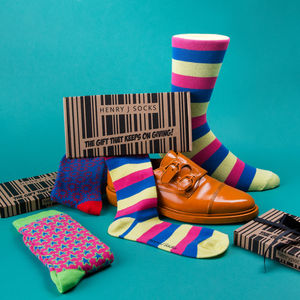 Monthly Sock Subscription - for him