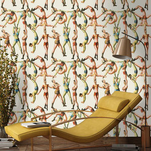 The Acrobats Wallpaper - furnishings & fittings