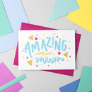 'Amazing Mum' Card