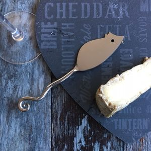 Mouse Cheese Knife - dining room