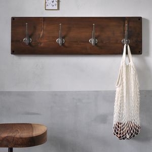 Reclaimed Wooden Coat Hook - home accessories