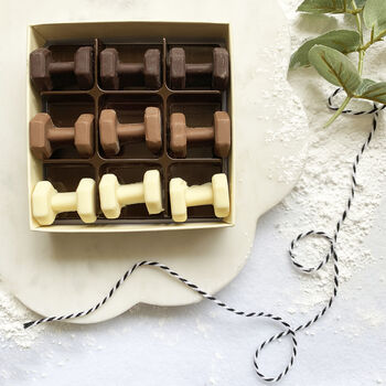 Chocolate Dumbbells