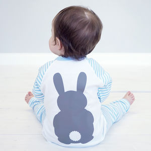 Personalised Bunny Rabbit Children's Pyjamas - more