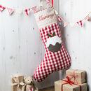 Personalised Christmas Pudding Stocking