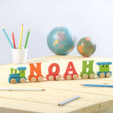 Personalised Alphabet Name Train - toys & games