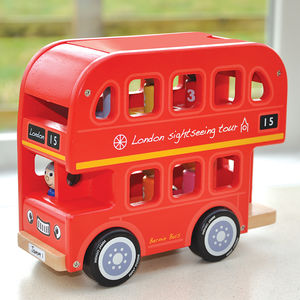 Wooden Number Sorting Bus - gifts for babies & children