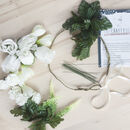 Bridal Flower Crown Kit
