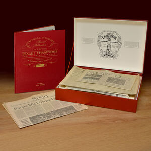 Liverpool Football Limited Edition Champions Box Set