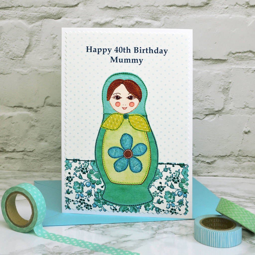 Personalised Girls Womens Birthday Card By Jenny Arnott Cards And Gifts