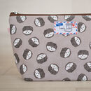 Hedgehog Gift Hedgehogs Makeup Cosmetic Bag