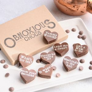Mother's Day Obnoxious Chocs Chocolate Box - gifts for grandmas
