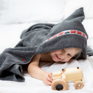 Children's Hooded Bath Towel - children's towels