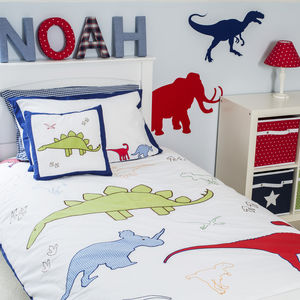 Dinosaur Duvet Set - cot bedding
