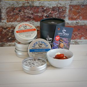 Gourmet Spices Four Tin Collection, Choose Four Tins