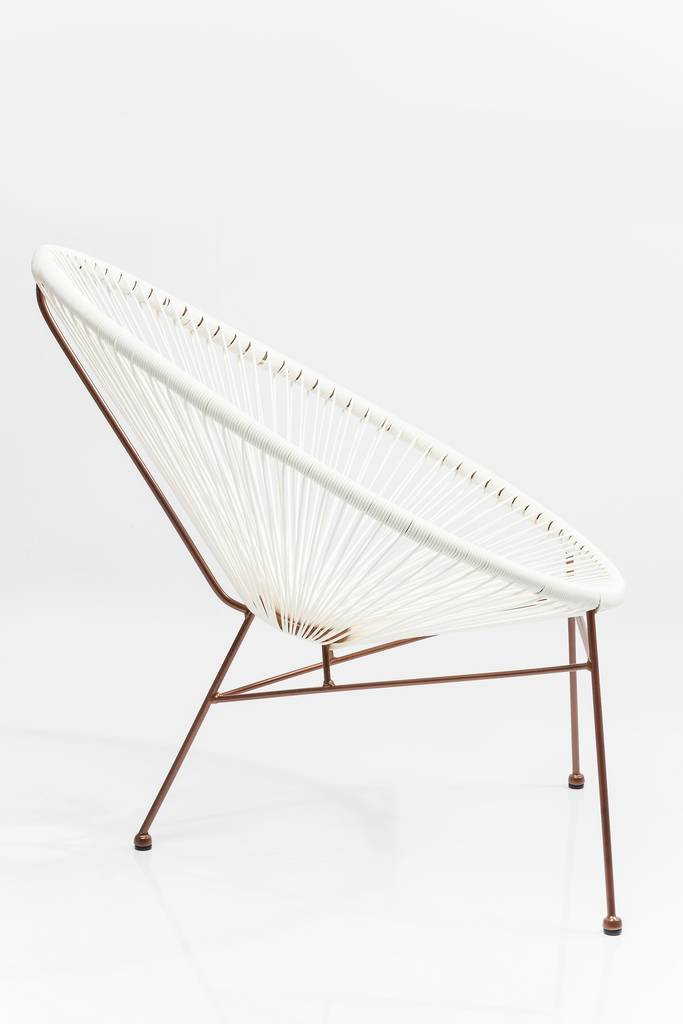 Acapulco String Metallic Chair By I Love Retro