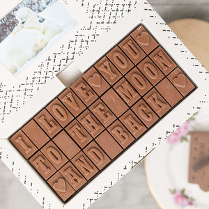 Chocolate Love Letter - personalised