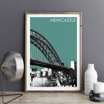 City Print Newcastle Tyne Bridge