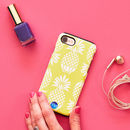 Pineapple Print iPhone Cases