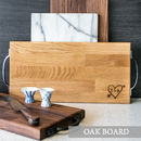 Personalised Wooden Chopping Board / Cheese Board