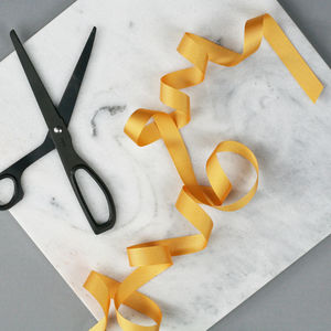 Gold Grosgrain Ribbon - diy stationery