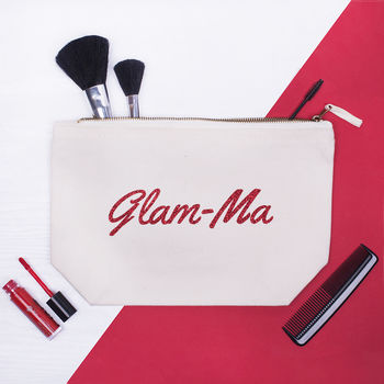 'Glam Ma' Makeup Bag