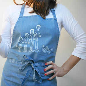 Personalised Child's Drawing Apron - aprons