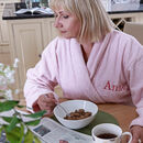 Personalised Cotton Towelling Bathrobe