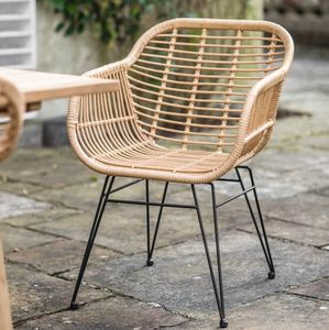 Indoor Or Outdoor Bamboo Chairs - garden furniture