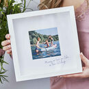 Personalised Favourite Memory Framed Print
