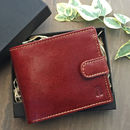 Men's Leather Wallet In A Gift Box
