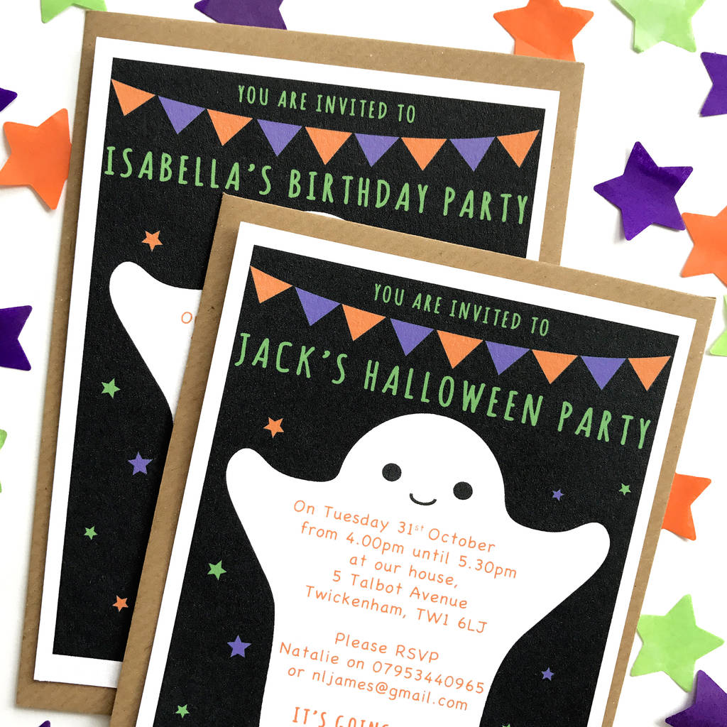 Halloween Party Invitations By Superfumi
