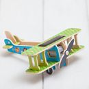 Build Your Own 3D Solar Powered Toy Aeroplane Craft Kit