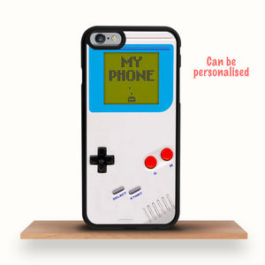 Retro Game Console iPhone Case Personalised