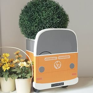 Personalised Campervan Plant Holder - pots & planters