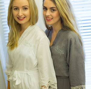 Lacie Personalised Bridal Robe Perfect For Bridesmaid