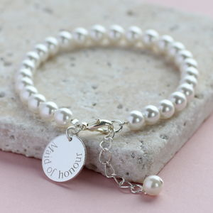 Bridesmaid Pearl Bracelet - what's new