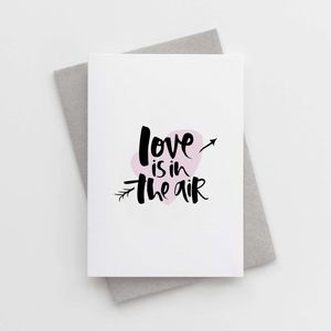 'Love Is In The Air' Engagement Card - wedding cards & wrap