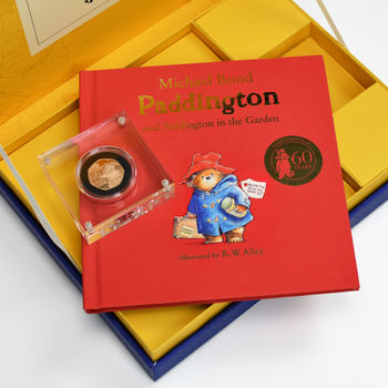 Paddington Bear Book And Royal Mint Gold Coin