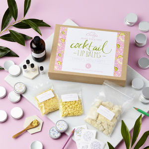 Create And Colour Cocktail Lip Balm Making Kit - wedding favours