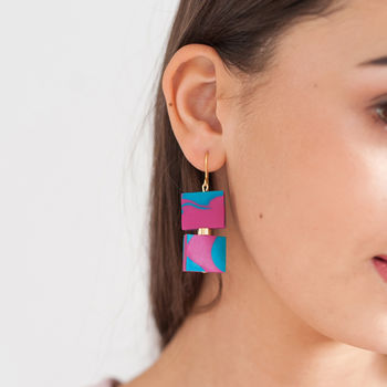Statement Square Earrings