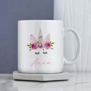 Unicorn Personalised Mug