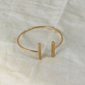 Open Twin Bar Bracelet