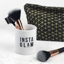 Instaglam Make Up Brush Pot