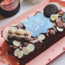 Personalised Birthday Brownie