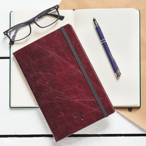 Classic Italian Leather A5 Notebook Journal