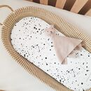 Speckle Basket Changing Mat